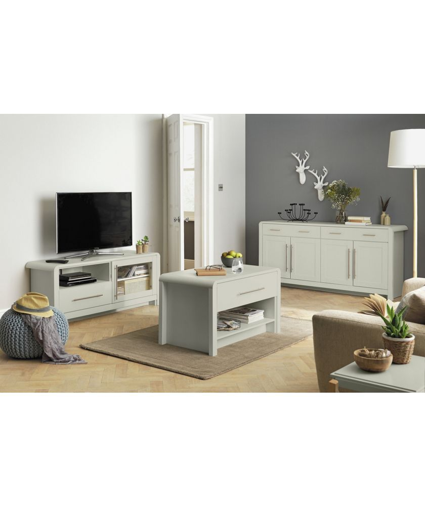 Buy Heart of House Elford 3 Piece Living Room Pack - Grey at Argos