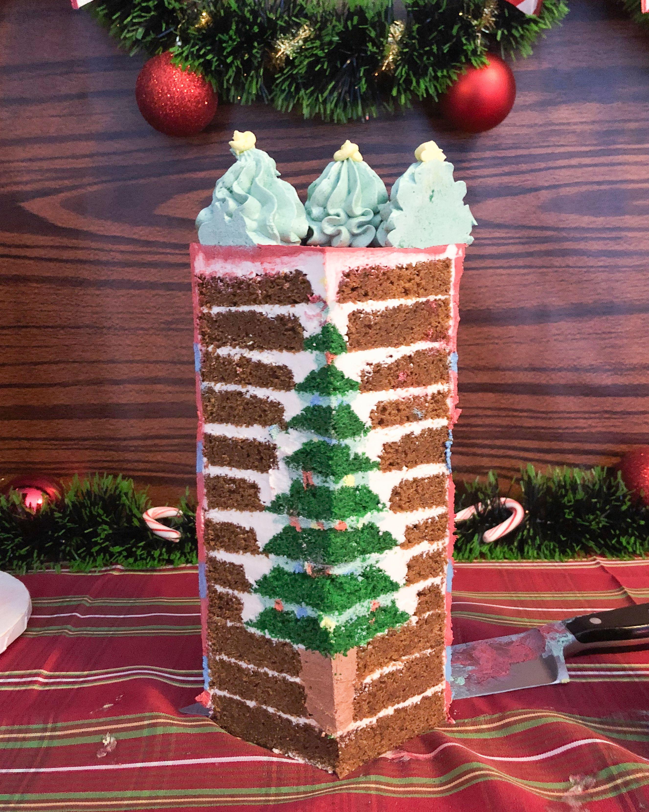 Christmas Tree Cake Christmas Tree Cake Christmas Cake Recipes Christmas Cake