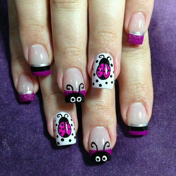 Pin de Priscila Ortega en Uñas   Pinterest   Diseños de uñas