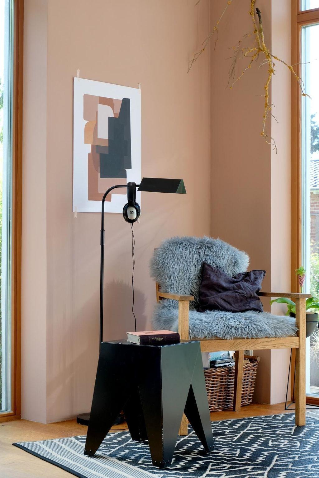 Was für eine tolle Wandfarbe in der Leseecke von dieartige Der ...