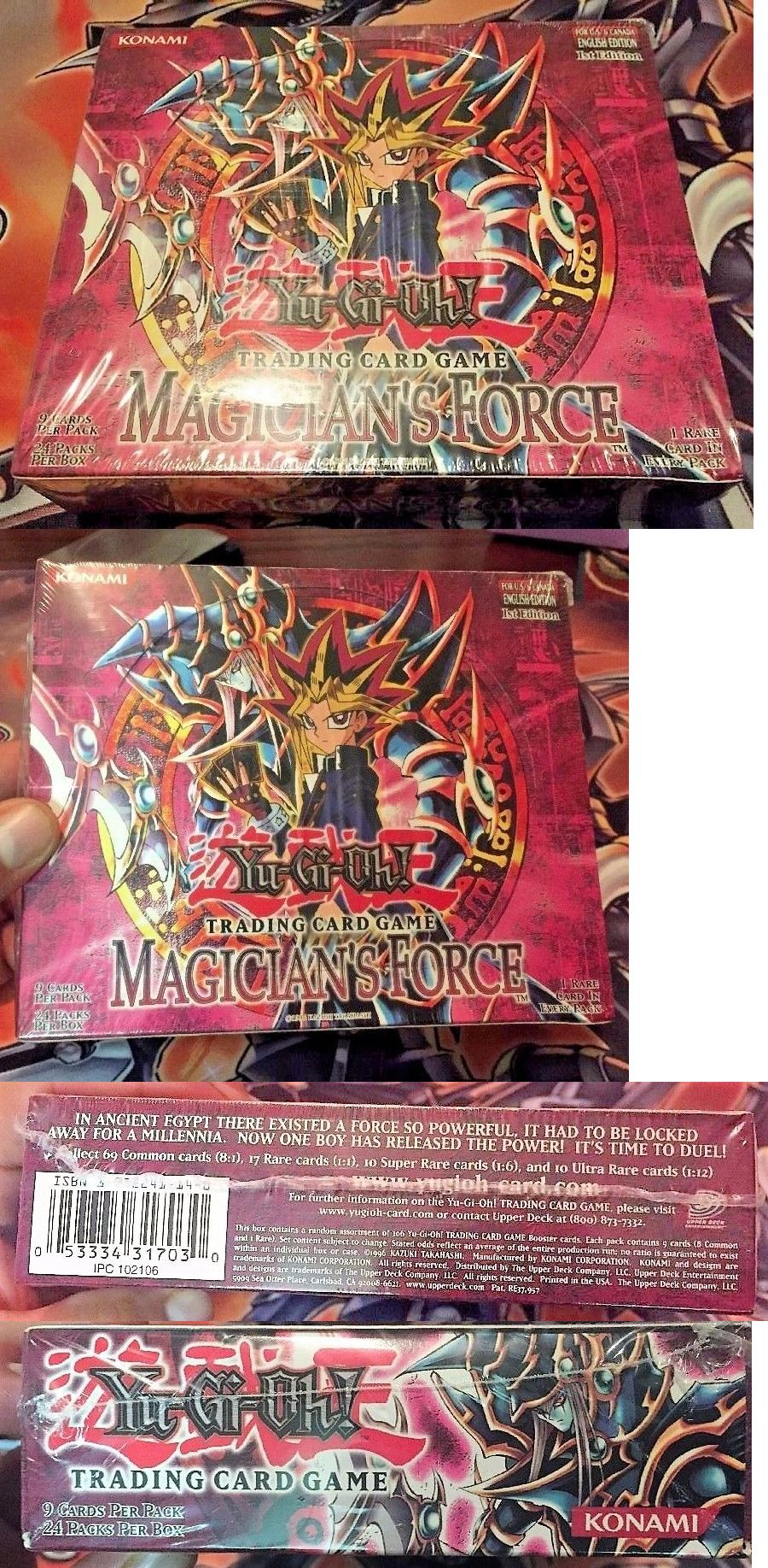yu gi oh sealed booster packs 31396 yugioh magician s force 1st