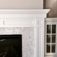 Image result for grey white tiles surround hearth edwardian fire place restoration