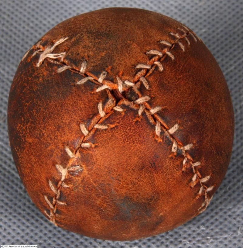 19th Century Lemon Peel Ball 157 Vintage Baseball Gloves Baseball Glove Vintage Baseball
