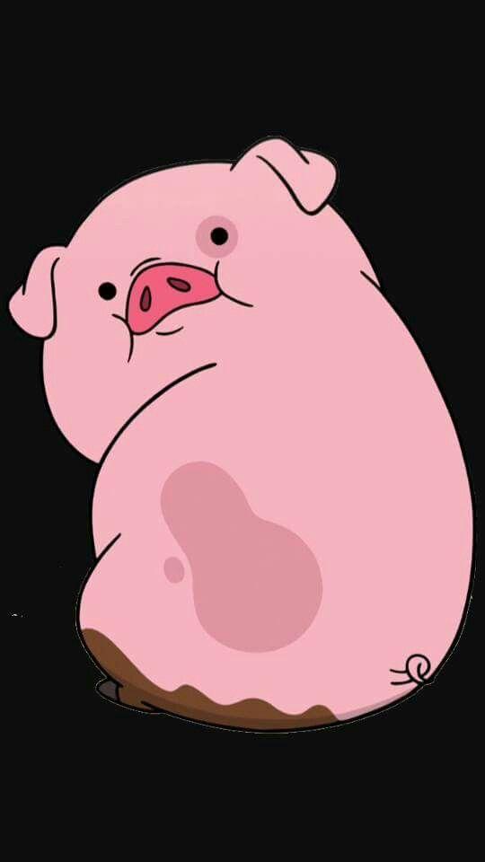Gravity Falls Pig Wallpaper Pato El Cerdo Fondos De Pantalla De Iphone Fondo De