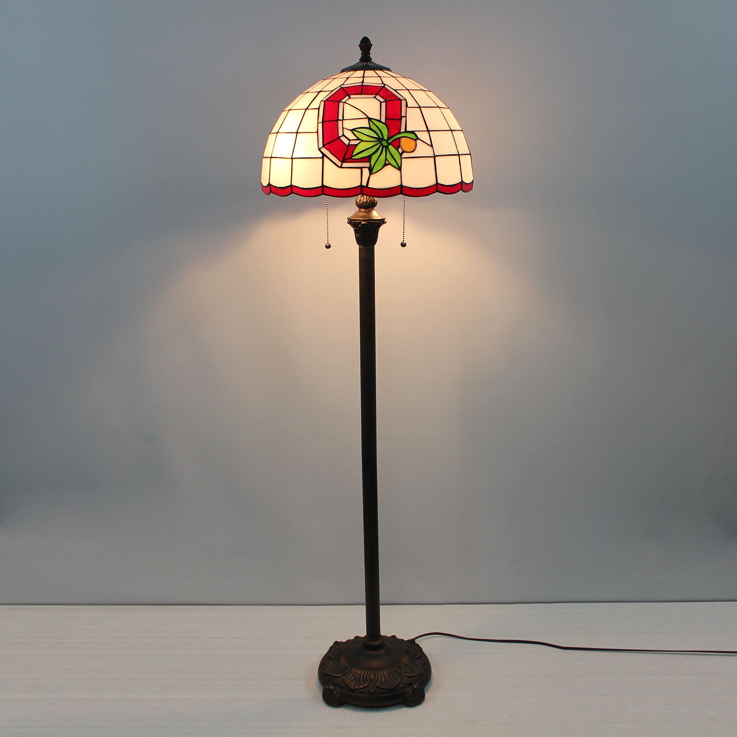 16inch Ncaa Ohio State Buckeyes Stained Glass Floor Lamp You Can Get Additional Details At