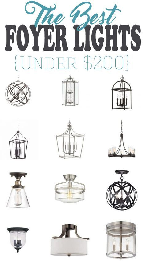 Picking the Perfect Entryway Light Fixture
