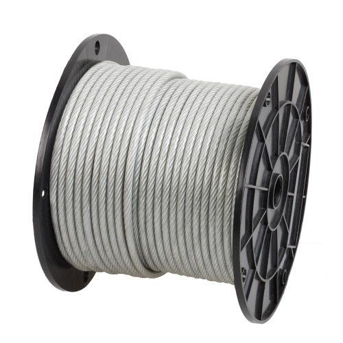 Crown Bolt 13950 3 16 Inch 125 Feet Wire Rope Stainless Steel By Crown Bolt 59 77 From The Manufacturer 7 X 19 Wire Rope Is Constru Suspension
