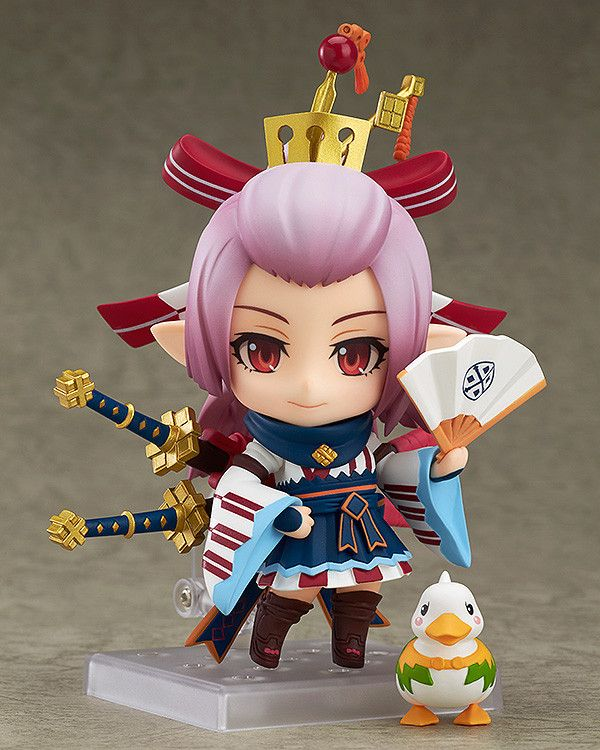 Nendoroid Guildmaster Included With The Monster Hunter Frontier G Five Million Hunters Memorial Goods Monster Hunter Nendoroid Monster Hunter Frontier