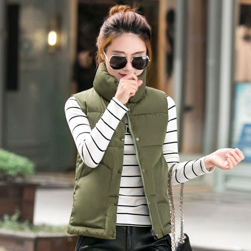 2016 Nuove donne Autunno/witner cappotto della maglia della tuta sportiva gilet colete feminino inverno donna casual Solid giacca di maglia