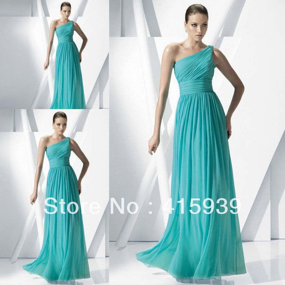 Image result for turquoise chiffon bridesmaid dresses | Ρούχα που ...