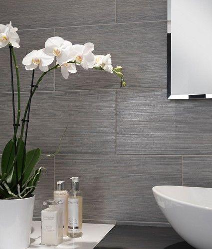 Topps Tiles Mokara Grey Tile Spa Bathroom Design Gray Bathroom Decor Tile Bathroom