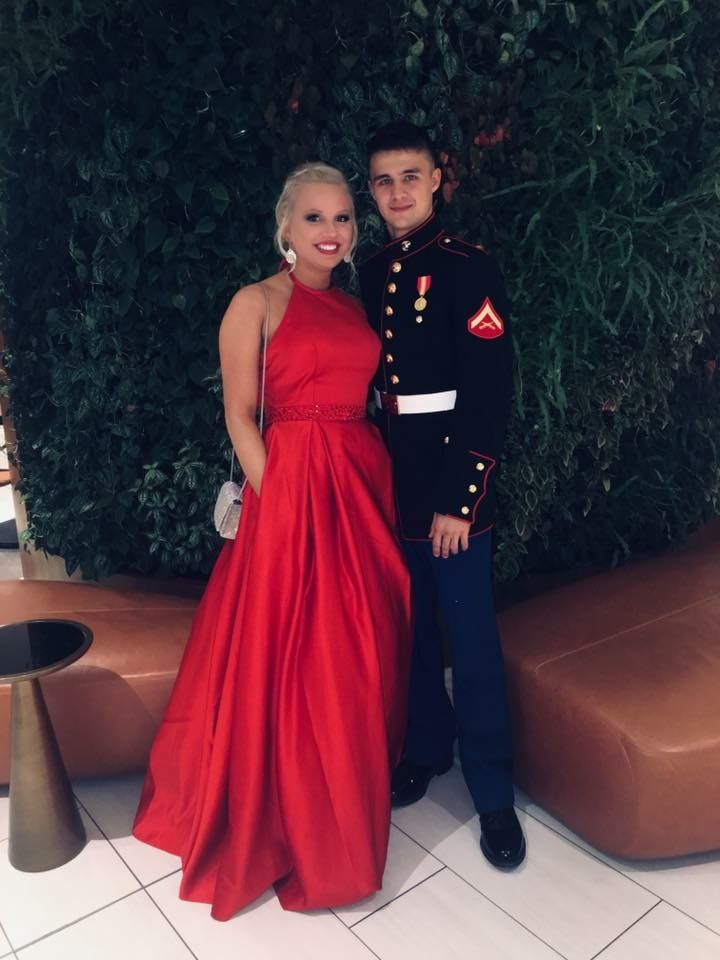 Marine Corps ball gown/dress | Military ball dresses, Ball ...