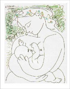 Obras Retratam A Amamentacao Desenho Picasso Arte De Picasso E
