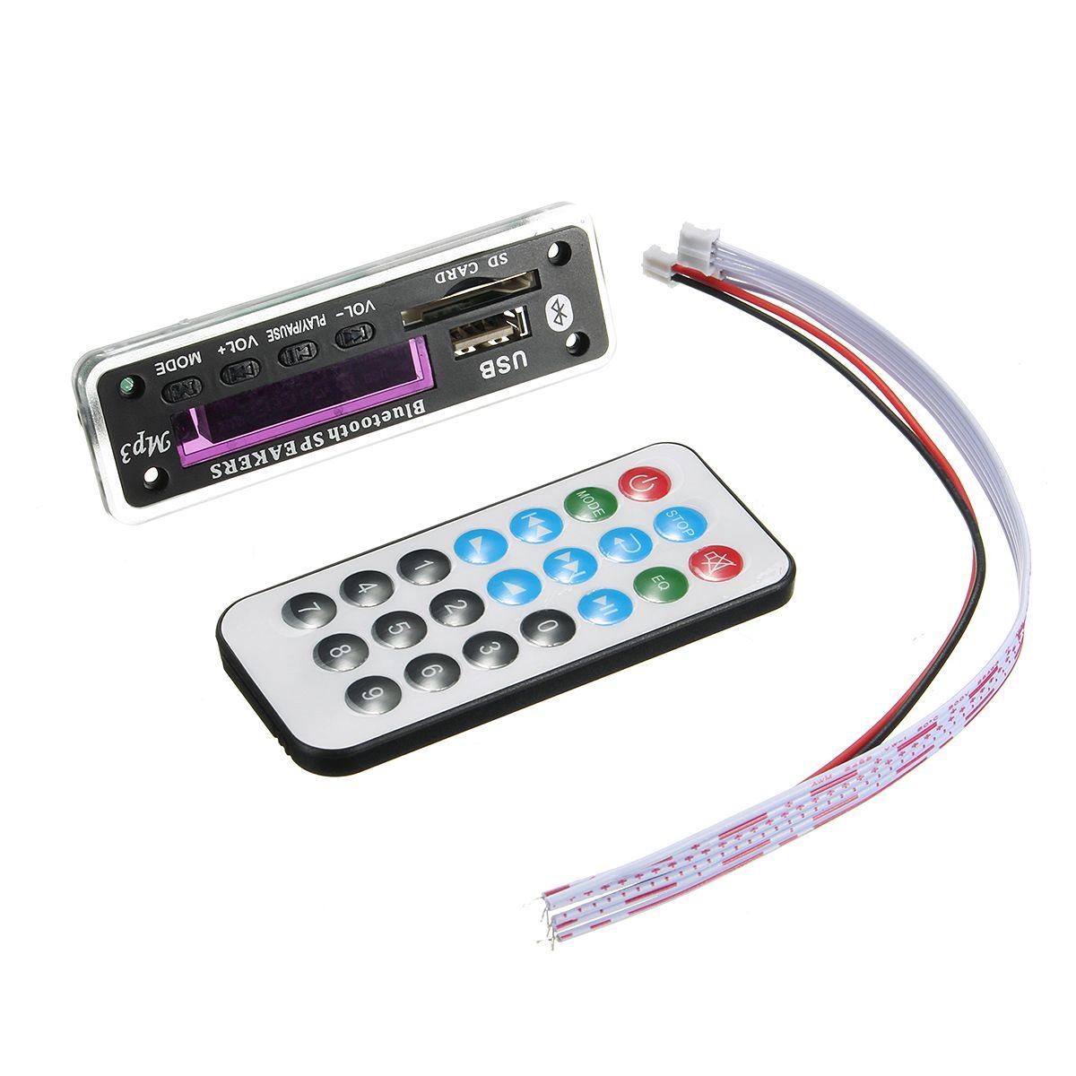 M01bt69 12v Inalambrica Wma Bluetooth Placa De Decodificador Mp3