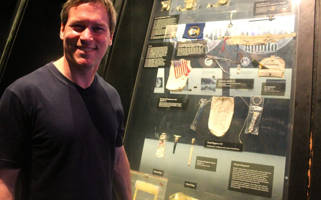 Clearwater Dentist Visits the National Air and Space