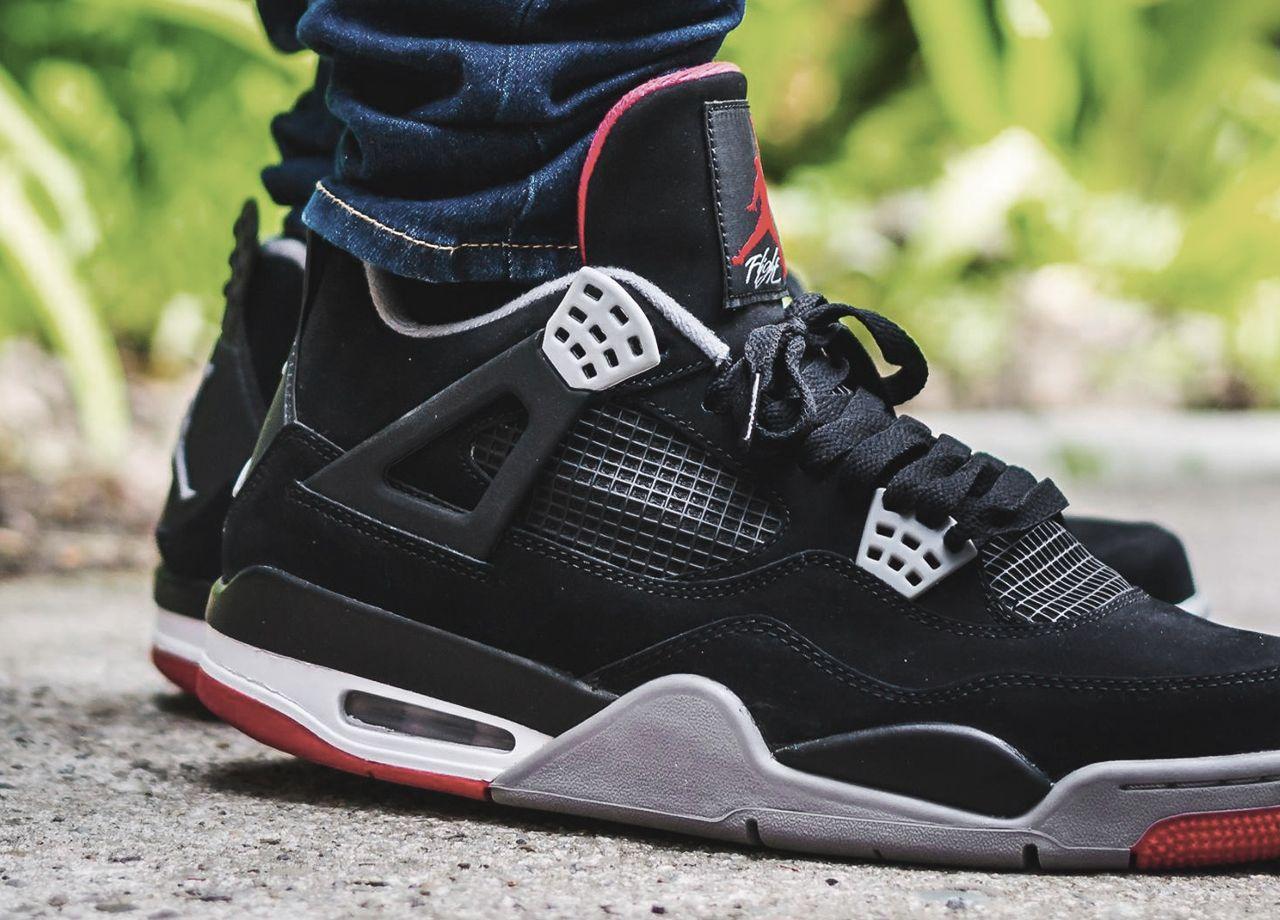 Nike Air Jordan IV 'Bred' - 2012 (by @tonydiamonds)   Sneakers men ...