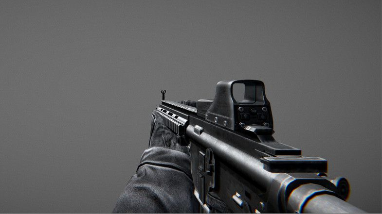 Animated FPS Weapons Pack (Part 1) #sponsored#3d , #SPONSORED