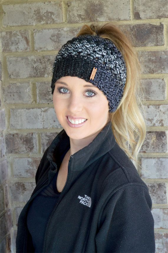 6006eff93f82 Free Crochet Messy Bun Pattern Roundup | Crocheted | Crochet beanie ...