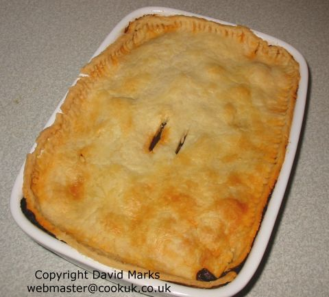 Steak and Mushroom Pie | Recipe | Steak and mushroom pie ...