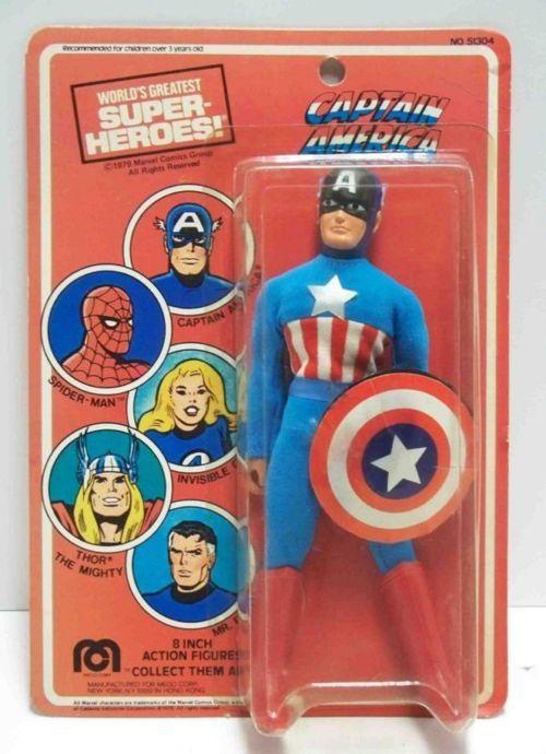 Mego Captain America #collectibles #actionfigures #toys #dolls