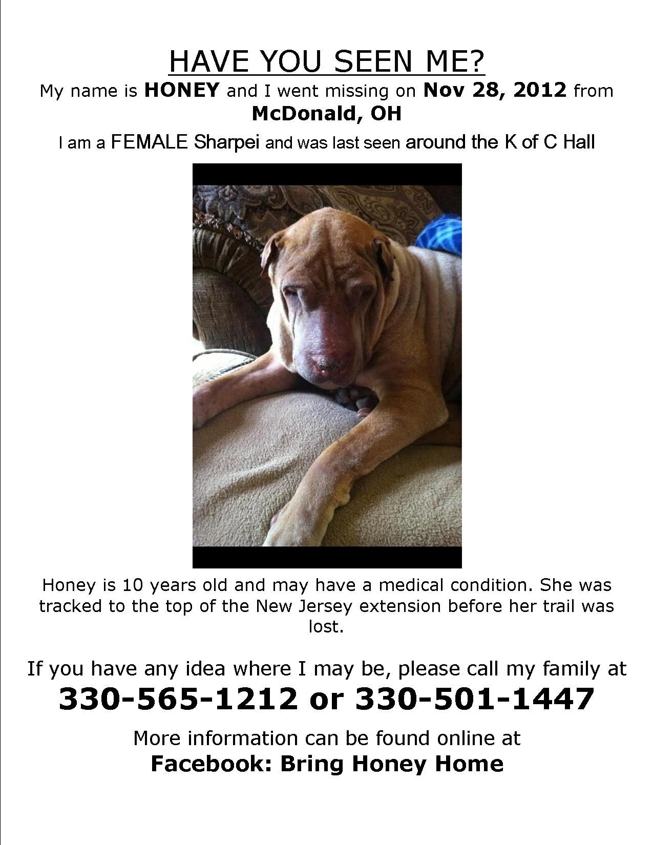 Honey Was Missing For Several Days Before She Was Found In The