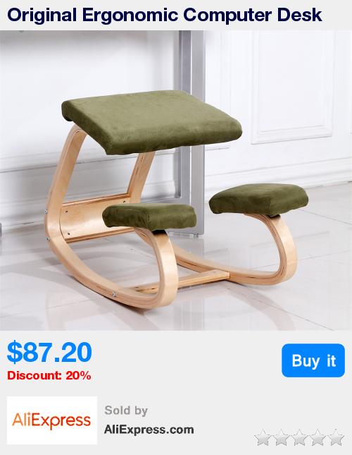 original ergonomic computer desk kneeling chair stool home office