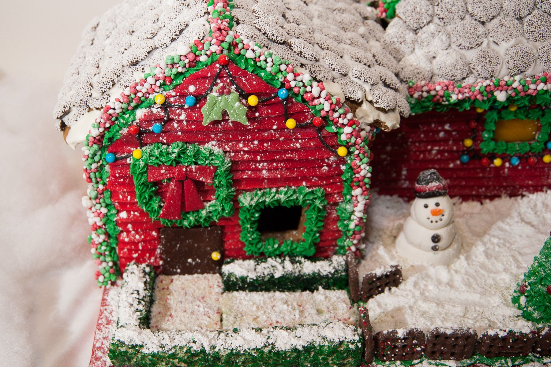 Lccc Culinary Students Gingerbread House Contest