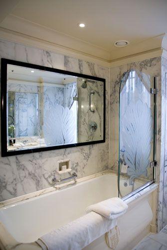 Bathroom Mirror TV  mouse over the big mirror Decor ideas