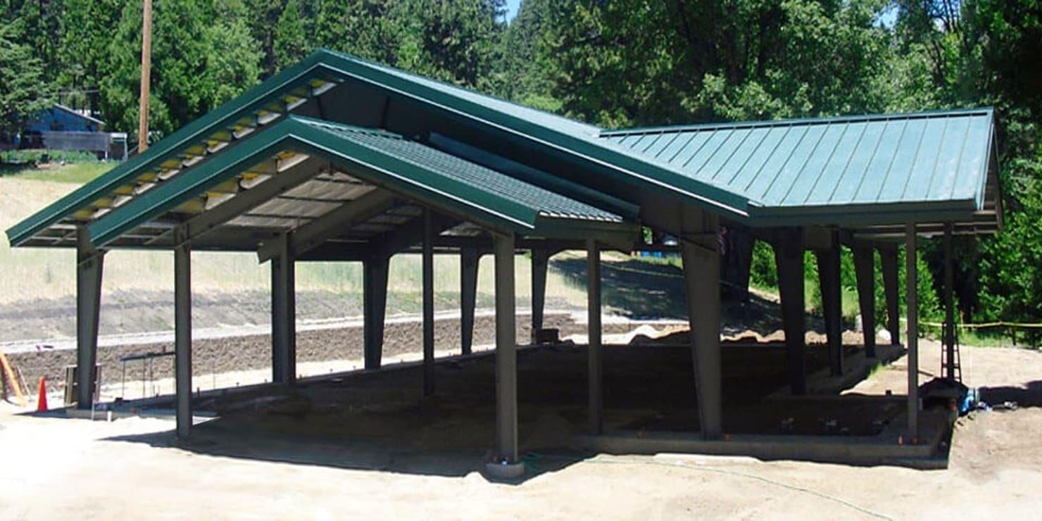 Metal Frame Carport Kits Metal carports, Carport designs