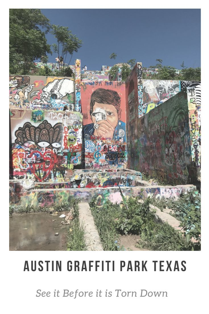 Austin graffiti park is a vibrant experience of street art