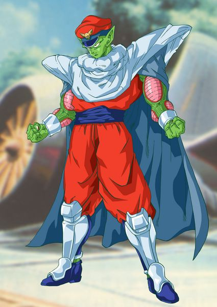M Piccolo Bison Dragon Ball Z Street Fighter Ii Mash Up