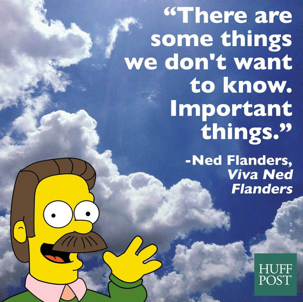 The Remarkable Spiritual Wisdom Of Ned Flanders From The
