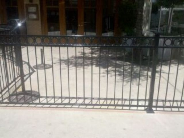 Pin By Texas Best Fence Amp Patio On Commercial Fence Iron