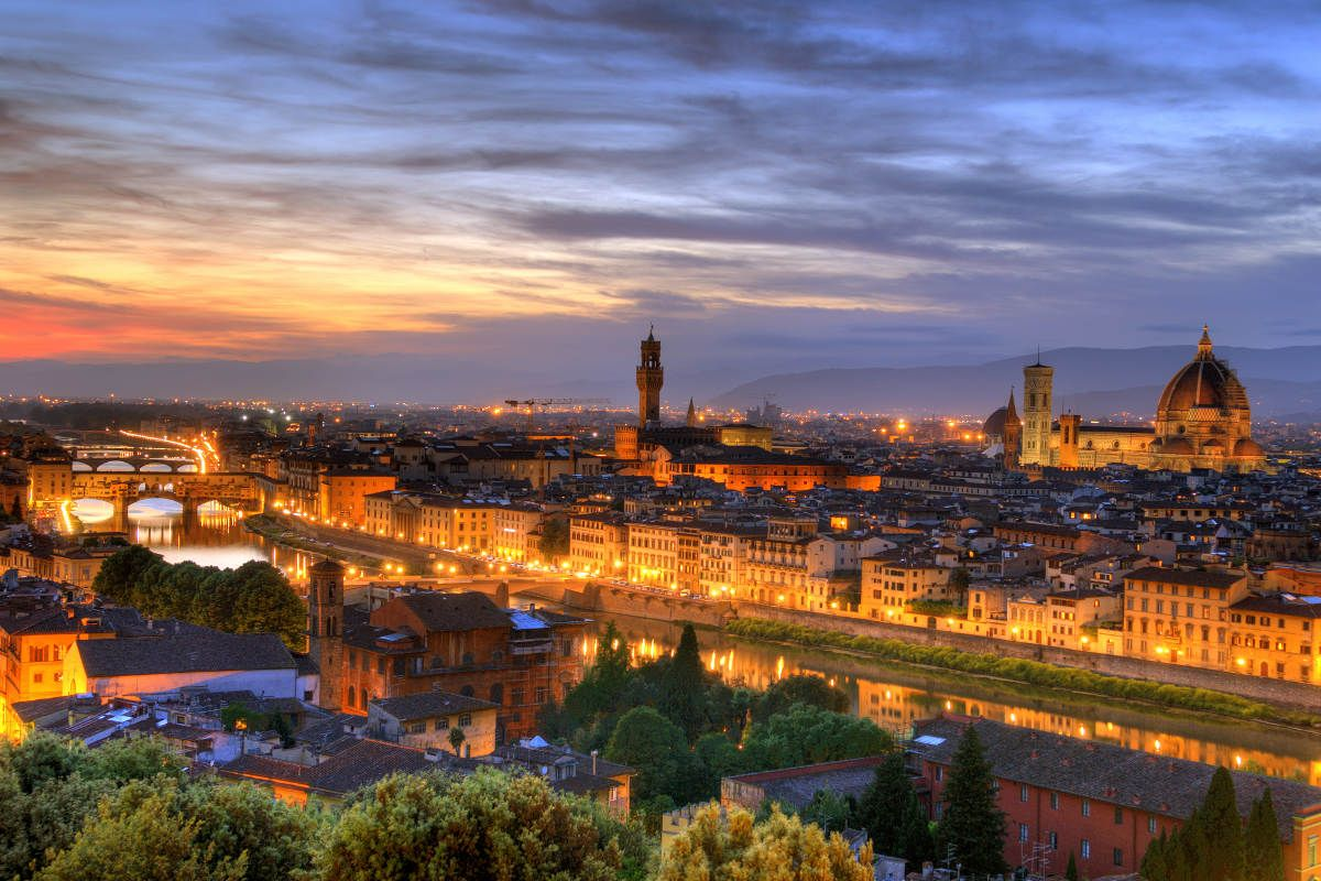 Florence from Piazza Michael Angelo | Places to travel ...