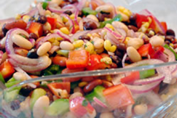 Mexican bean salad and even better a link to a recipe search mexican bean salad and even better a link to a recipe search engine for forumfinder Choice Image