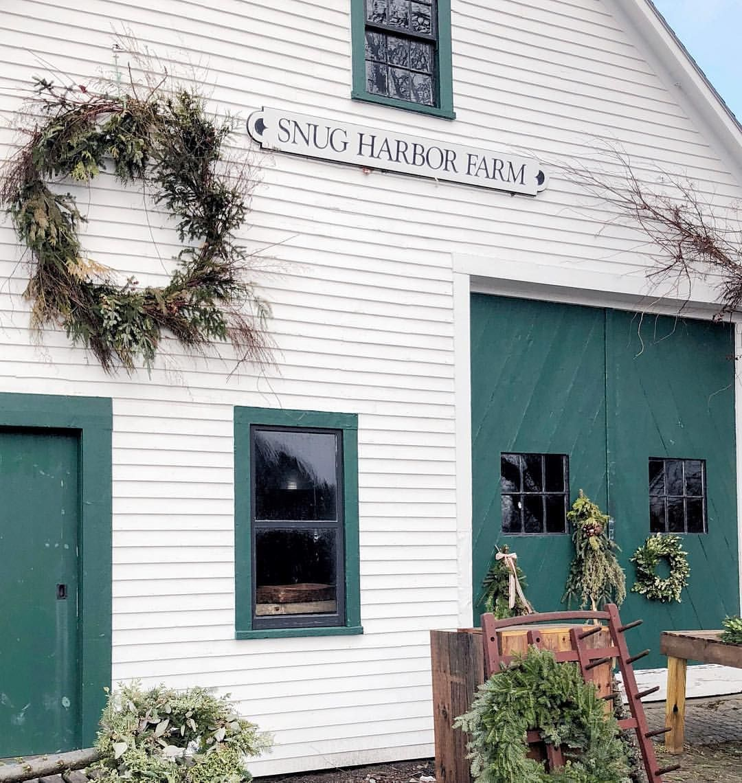 Snug harbor farm in Kennebunkport, Maine all decorated for ...