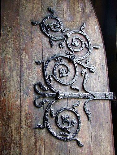 Old door great detail...