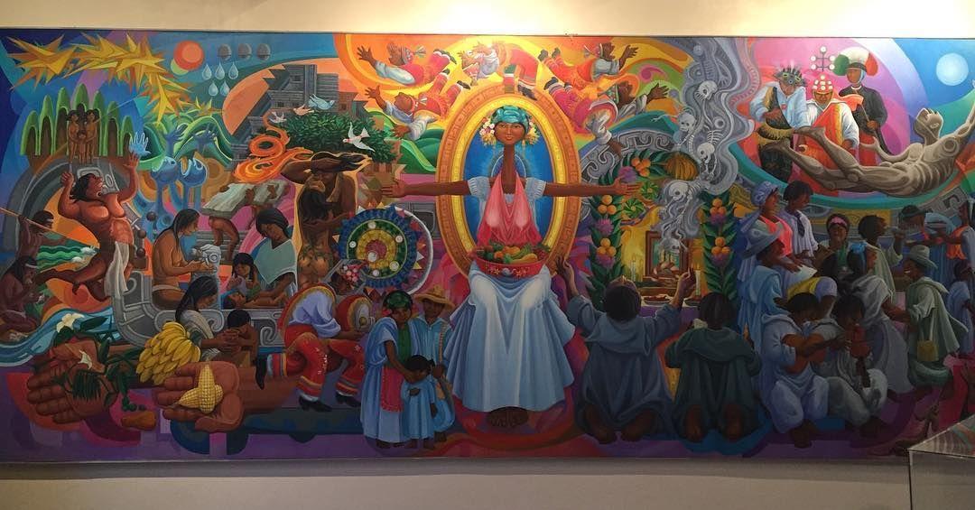 "arodiorea_mx: ""[Mural de la cultura totonaca obra del Mtro. Teodoro Cano]  #mobilephotography #art #mural #museum #teodorocano #papantla #totonacapan #mundototonacapan #veracruz #visitmexico #travel #tourism"""