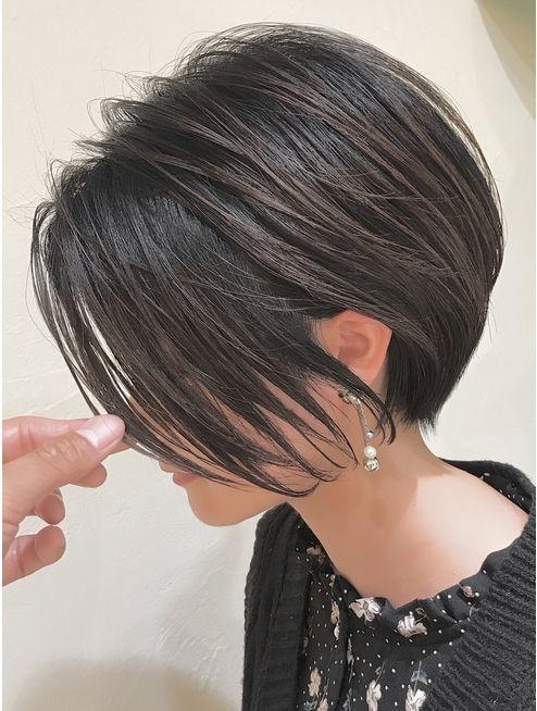 くびれショートボブ:L047743260|バンプ 銀座(BUMP)のヘアカタログ|ホットペッパービュ