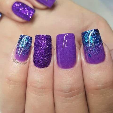25 nice purple crome nails ideas for 2019  fashion 2d