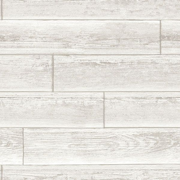 Nu1690 Reclaimed Wood Plank Natural Peel And Stick Wallpaper By Nuwallpaper Nuwallpaper Peel And Stick Wallpaper Wood Adhesive