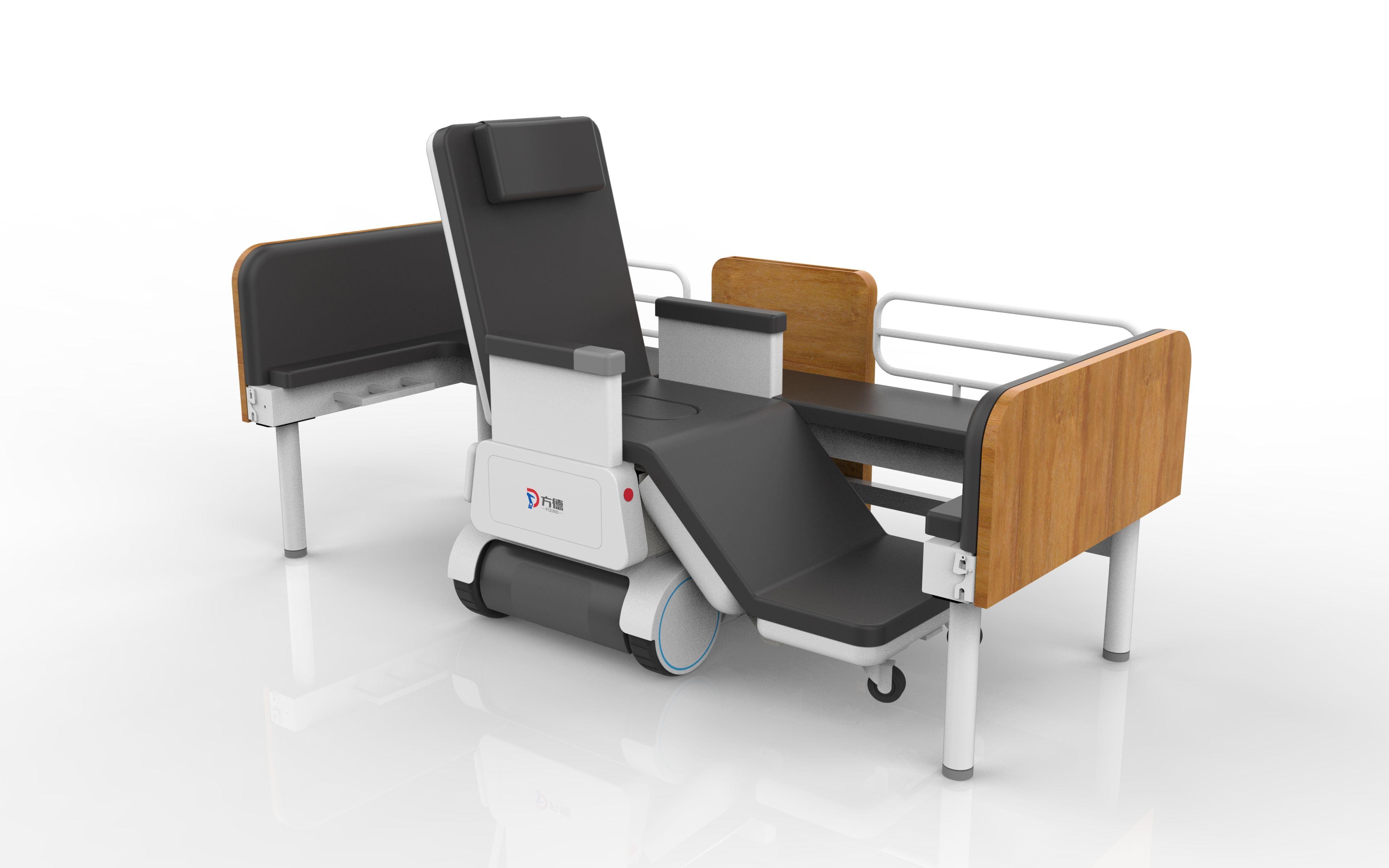 This Robot Integrates Multi Functional Nursing Bed Intelligent