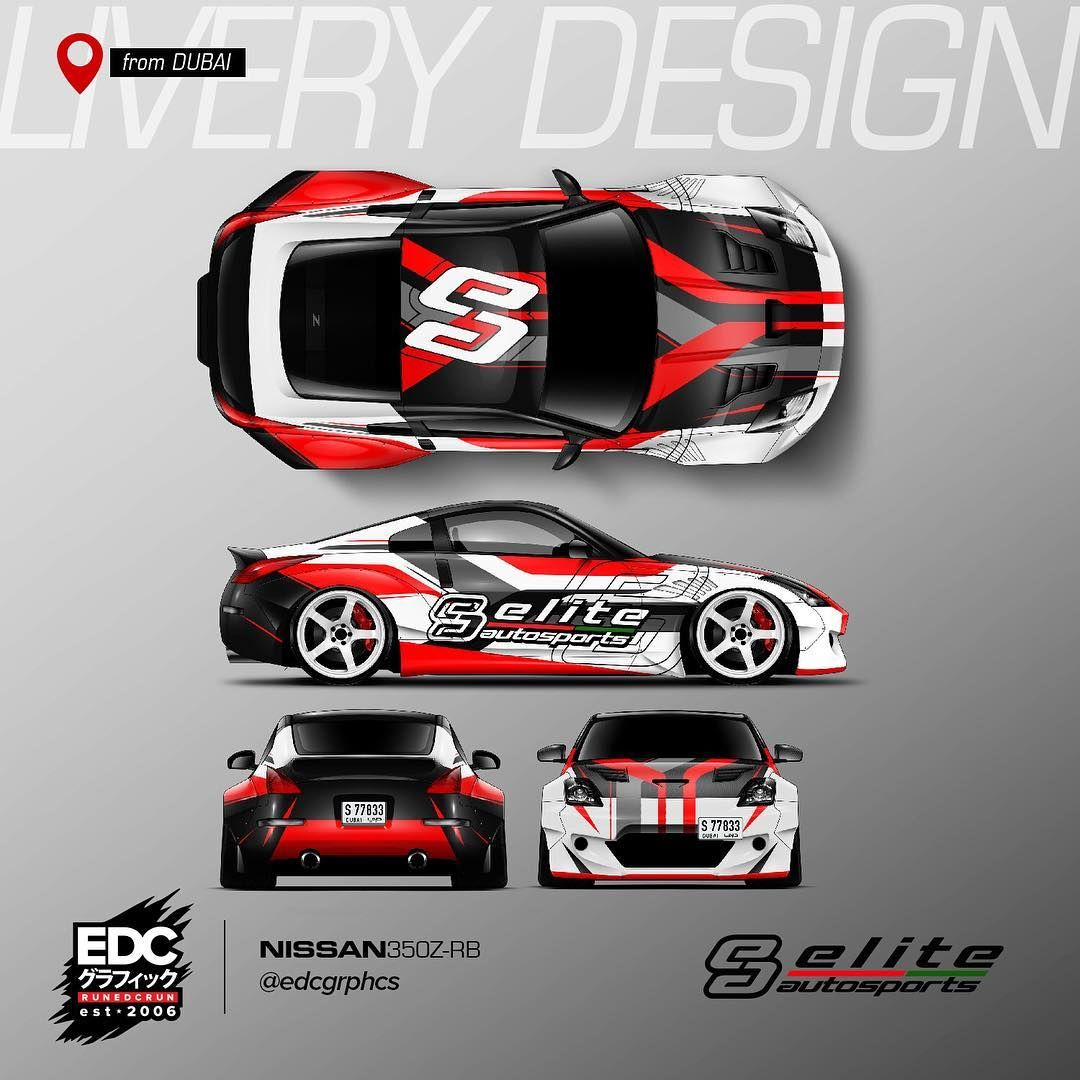 Livery Design from #DUBAI #EDCGRPHCS Owne | CAR | Racing car