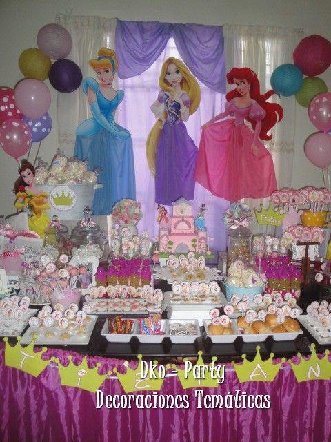 Princesas disney cumplea os en 2019 disney princess - Mesas para cumpleanos infantiles ...