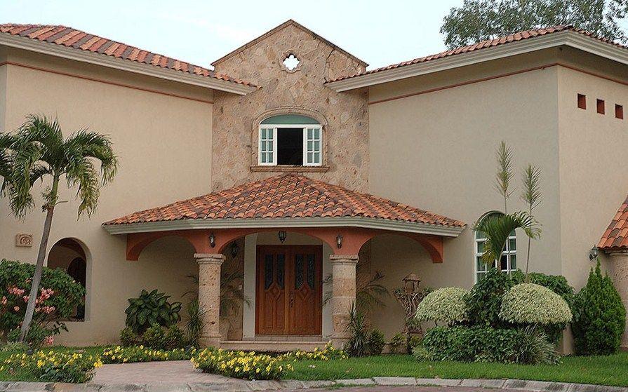 Casas con bonitas molduras de cantera my house en 2019 - Molduras para ventanas exteriores casas ...