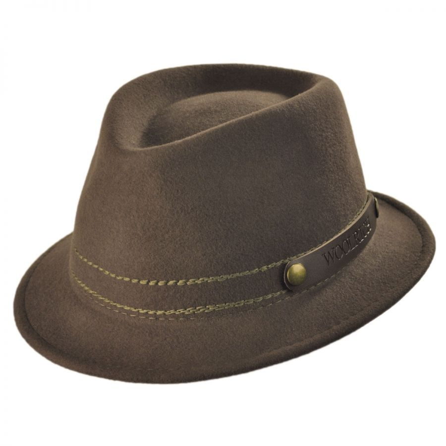 ccef8570 fedora hats | Woolrich Roll Up Fedora Hat Crushable at Village Hat Shop