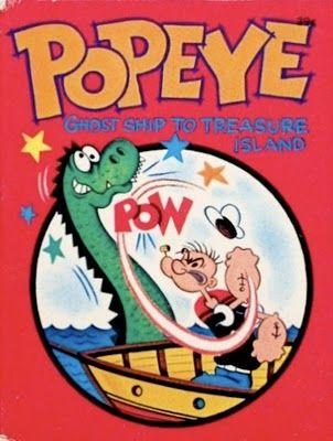 Whitman S 1967 Popeye Big Little Book