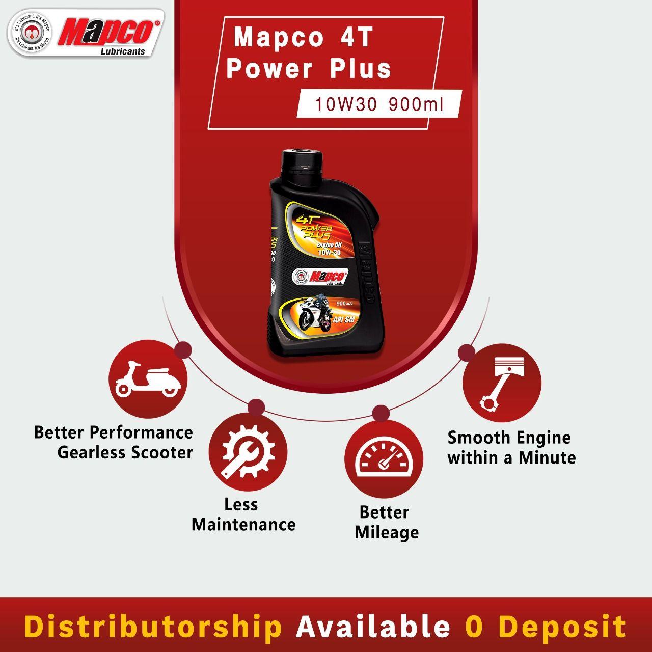 Mapco Lubricants Distributorship Available Zero Deposit