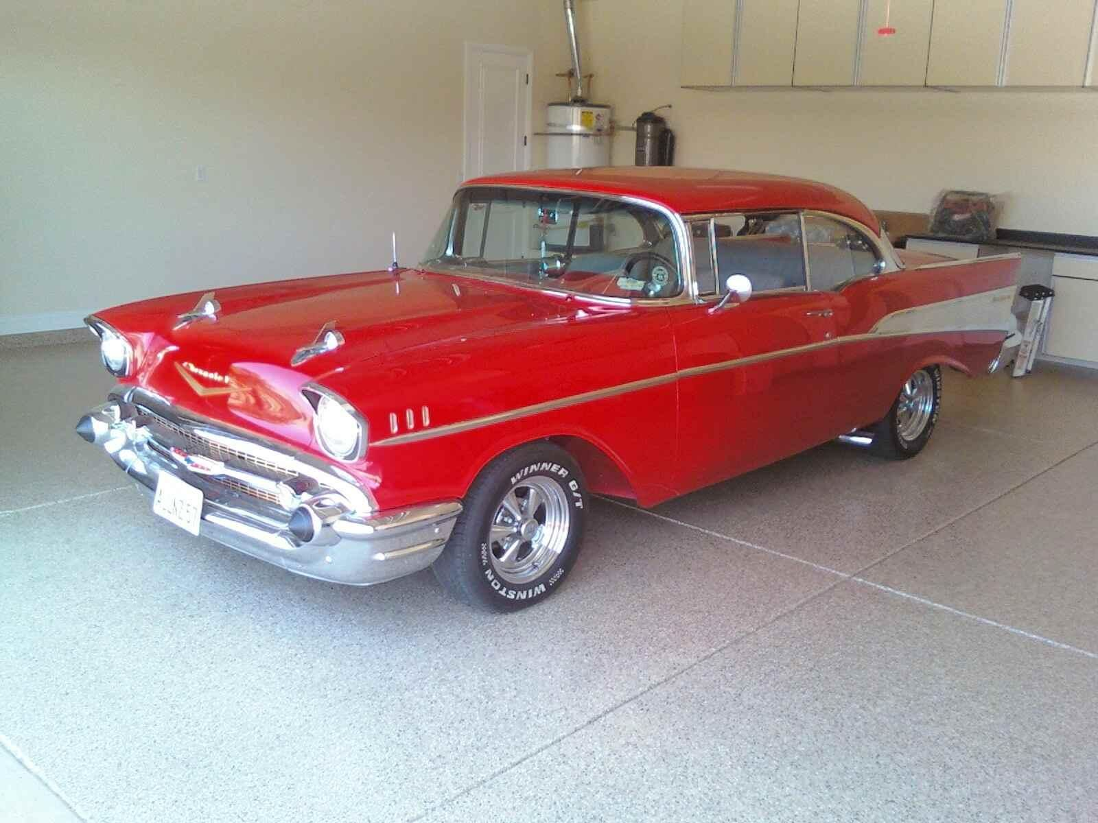 Rebuilt This Bad Boy With My Dad 1957 Chevrolet Bel Air 2 Door Hard Top 57 Chevy Bel Air Chevrolet Bel Air Chevy Bel Air