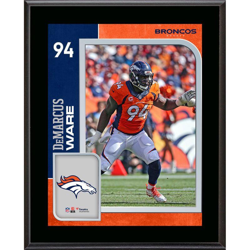 20cef39714e DeMarcus Ware Denver Broncos Fanatics Authentic 10.5'' x 13'' Sublimated  Player Plaque